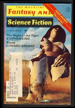 The Night of the Tiger in The Magazine of Fantasy and Science Fiction February 1978. Stephen King