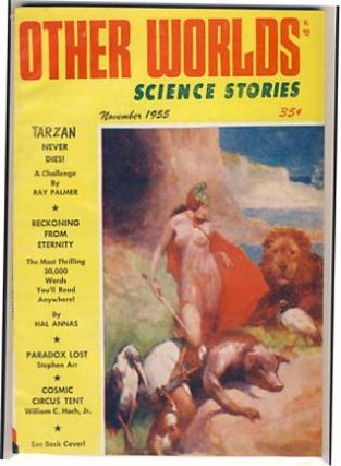 Other Worlds Science Stories November 1955. Raymond Palmer, Bea Mahaffey, eds