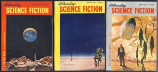 The Currents of Space in Astounding Science Fiction October, November and December 1952. Isaac...