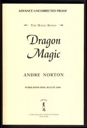 Dragon Magic. Andre Norton.
