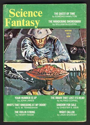 Science Fantasy Winter 1971 No. 3. Sol Cohen, ed.
