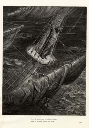 """And I had done a hellish thing..."" - A plate from The Rime of the Ancient Mariner. Gustave..."