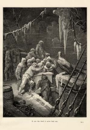 """It ate the food it ne'er had eat."" - A plate from The Rime of the Ancient Mariner. Gustave..."