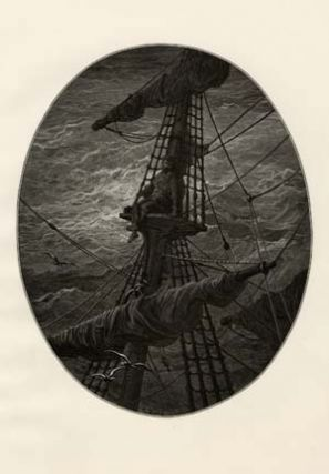 A plate from The Rime of the Ancient Mariner. Gustave Dor&eacute