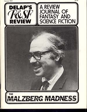 Delap's Fantasy & Science Fiction Review February 1977 Vol. 3 No. 2. Richard Delap, ed.