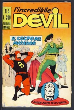 L'incredibile Devil #5. Stan Lee, Wallace Wood