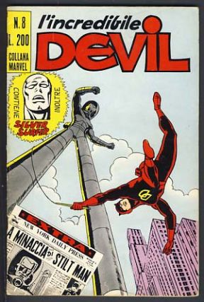 L'incredibile Devil #8. Stan Lee, Wallace Wood