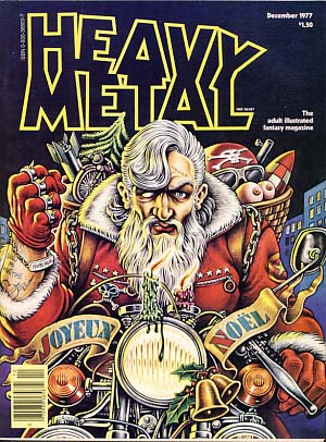 Heavy Metal Magazine December 1977 Vol. 1 No. 9. Sean Kelly, Valerie Marchant, eds
