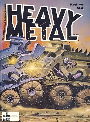 Heavy Metal Magazine March 1979 Vol. II No. 11. Sean Kelly, Valerie Marchant, eds