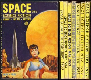 Space Science Fiction Full Run 1952-1953.