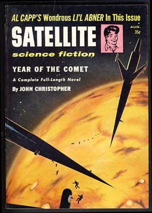 Satellite Science Fiction August 1957. Leo Margulies, ed