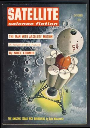 Satellite Science Fiction October 1958 Vol. 3 No. 1. Sylvia Kleinman, ed