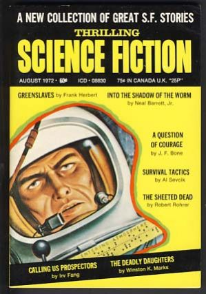 Thrilling Science Fiction August 1972. Sol Cohen, ed