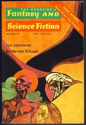 The Magazine of Fantasy and Science Fiction March 1973. Edward L. Ferman, ed