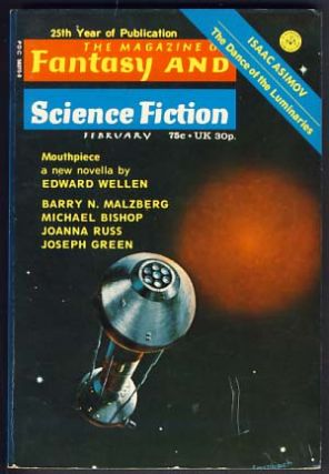 The Magazine of Fantasy and Science Fiction February 1974. Edward L. Ferman, ed
