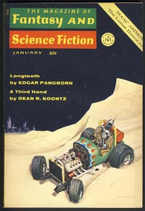 The Magazine of Fantasy and Science Fiction January 1970 Vol. 38 No. 1. Edward L. Ferman, ed