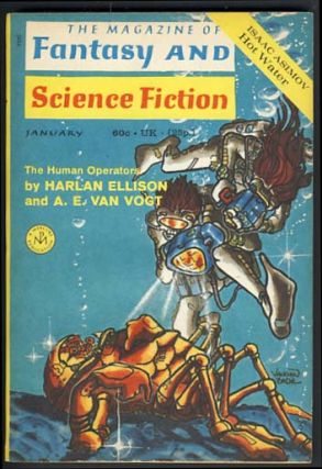 The Magazine of Fantasy and Science Fiction January 1971 Vol. 40 No. 1. Edward L. Ferman, ed