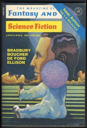 The Magazine of Fantasy and Science Fiction January 1972. Edward L. Ferman, ed
