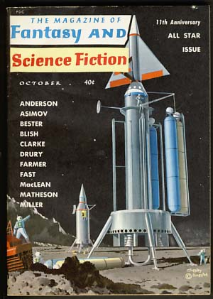 The Magazine of Fantasy and Science Fiction October 1960. Robert P. Mills, ed.