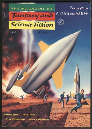 The Magazine of Fantasy and Science Fiction April 1954. Anthony Boucher, J. Francis McComas, eds