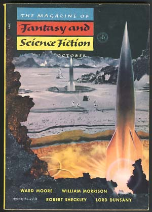 The Magazine of Fantasy and Science Fiction October 1954 Vol. 7 No. 4. Anthony Boucher, ed.