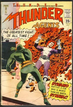 Thunder Agents No. 2 January 1966. Wallace Wood
