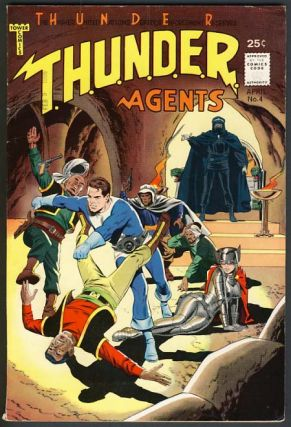 Thunder Agents No. 4 April 1966. Wallace Wood
