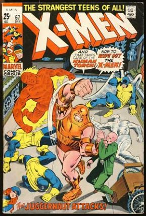 The X-Men #67. Stan Lee