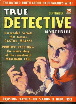 True Detective Mysteries September 1936 Vol. 26 No. 2