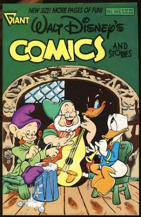 Walt Disney's Comics and Stories No. 543 October 1989. Carl Barks