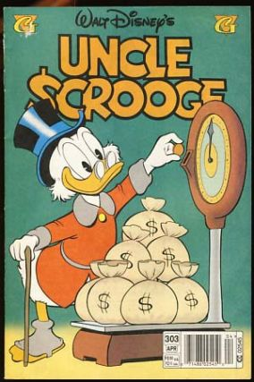 Walt Disney's Uncle Scrooge No. 303 March 1997. Carl Barks
