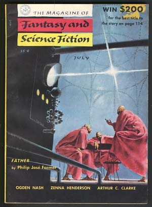 The Magazine of Fantasy and Science Fiction July 1955. Anthony Boucher, ed