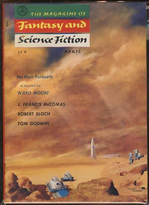 The Magazine of Fantasy and Science Fiction April 1956 Vol. 10 No. 4. Anthony Boucher, ed.