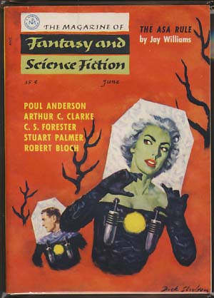 The Magazine of Fantasy and Science Fiction June 1956. Anthony Boucher, ed