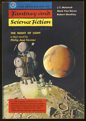 The Magazine of Fantasy and Science Fiction June 1957. Anthony Boucher, ed