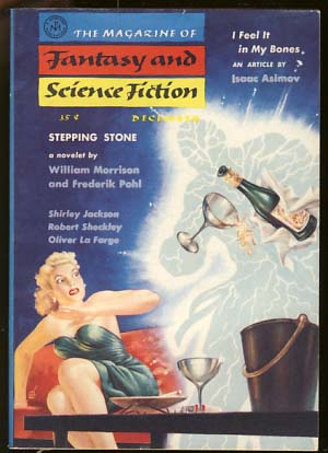 The Magazine of Fantasy and Science Fiction December 1957. Anthony Boucher, ed