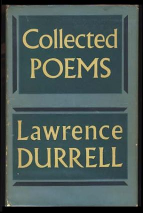Collected Poems. Lawrence Durrell.