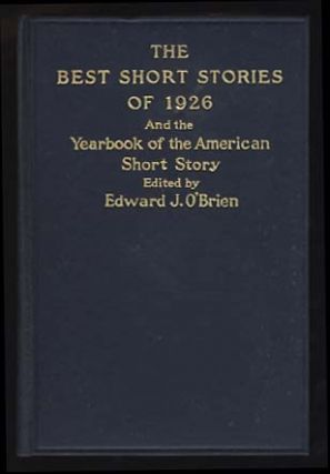 The Undefeated in The Best Short Stories of 1926 and the Yearbook of the American Short Story....