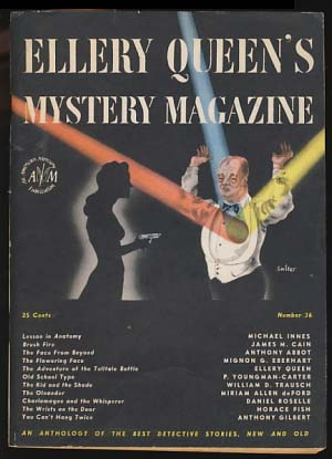 Ellery Queen's Mystery Magazine November 1946 Vol. 8 No. 36. Ellery Queen, ed