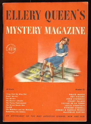 Ellery Queen's Mystery Magazine August 1946 Vol. 8 No. 33. Ellery Queen, ed