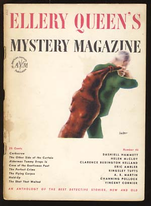 Ellery Queen's Mystery Magazine September 1947 Vol. 10 No. 46. Ellery Queen, ed