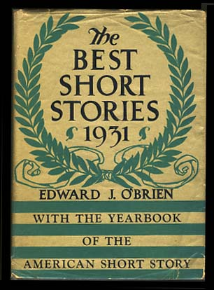 Babylon Revisited in The Best Short Stories of 1931 and the Yearbook of the American Short Story....