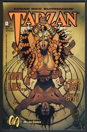 Tarzan: Love, Lies... and the Lost City Complete Mini Series. Edgar Rice Burroughs, Teddy...
