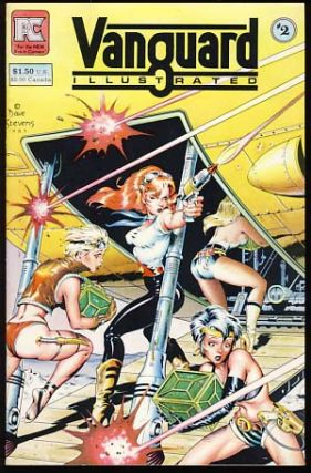 Vanguard Illustrated Issues #1 to 4. Mike Baron, Steve Rude, Dave Stevens