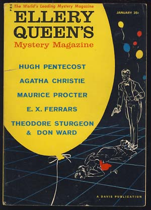 Ellery Queen's Mystery Magazine January 1960. Ellery Queen, ed