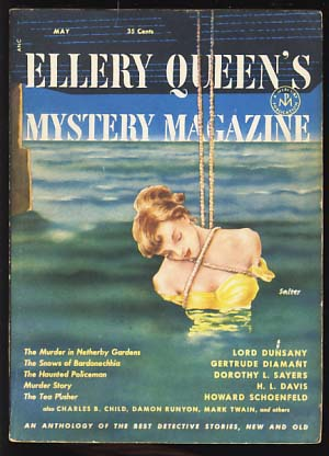 Ellery Queen's Mystery Magazine May 1952. Ellery Queen, ed