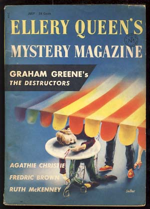 Ellery Queen's Mystery Magazine July 1956. Ellery Queen, ed