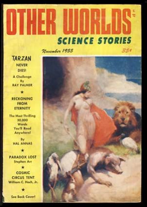 Other Worlds Science Stories November 1955. Raymond Palmer, ed