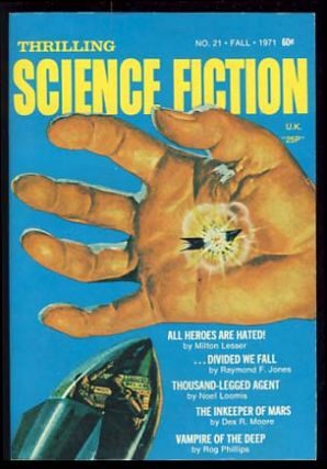 Thrilling Science Fiction Fall 1971. Sol Cohen, ed.