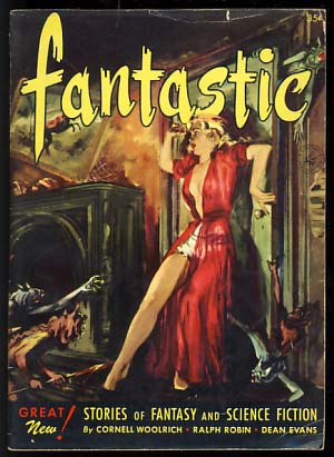 Fantastic November-December 1952. Howard Browne, ed